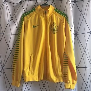 Nike Green & Yellow Sweater